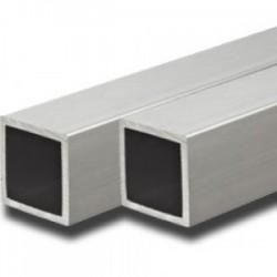 Tubo cuadrado aluminio 30x30x2 mm