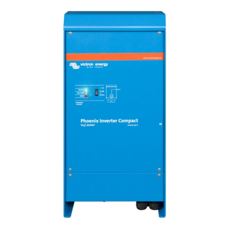 Inversor Phoenix Compact 12/2000 - 230v. 50 Hz.