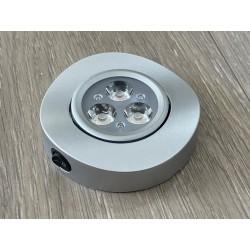 Foco Led 12V regulable con interruptor